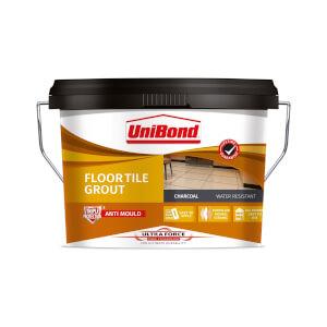 UniBond UltraForce Floor Tile Grout Black 3.75kg