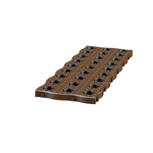 Garantia Maxi Garden Board 4 Per Set Dark Brown