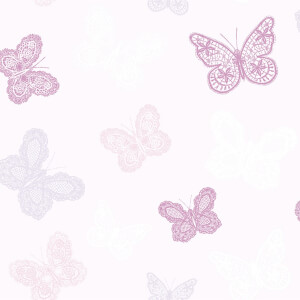 Superfresco Easy Butterfly Pink Wallpaper