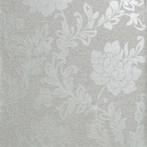 Arthouse Calico Floral Grey Wallpaper