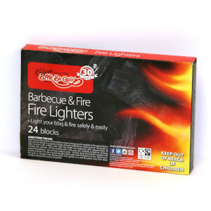 Bar-Be-Quick Firelighters (pack of 24)