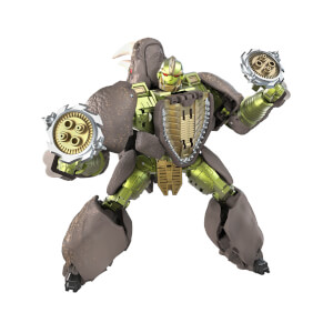 Hasbro Transformers Generations War for Cybertron: Kingdom Voyager WFC-K27 Rhinox Action Figure