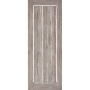 Mexicano Internal Light Grey Laminate 5 Panel Door - 762 x 1981mm
