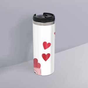 Love Truck Stainless Steel Thermo Travel Mug