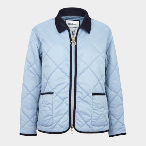 Barbour X Alexa Chung Women's Quilty Quilted Jacket - Fade Blue