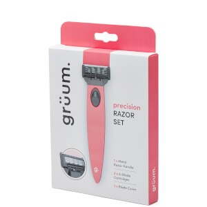 grüum Precision Razor Set - Rose Pink