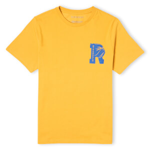 Riverdale Bulldog Pocket Print Unisex T-Shirt - Yellow