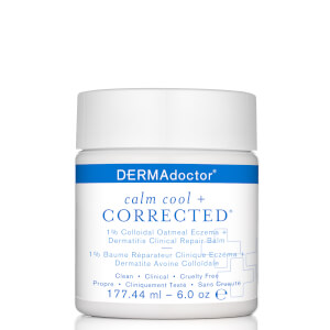 DERMAdoctor Calm Cool and Corrected 1% Colloidal Eczema and Dermatitis Clinical Repair Balm 6 oz