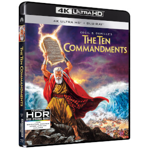 The Ten Commandments (1956) - 4K Ultra HD (Includes 2D Blu-ray)