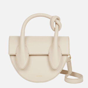 Yuzefi Women's Dolores Leather Bag - Oatmeal