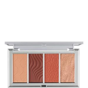 PÜR 4 in 1 Skin Perfecting Powders Palette - Dark Deep 15g