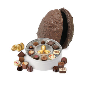 Ostrich Easter Egg - Classic Milk Chocolate