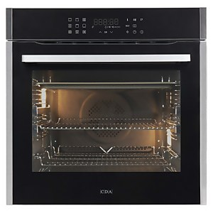 CDA SL550SS Built-in Pyrolytic Single Electric Oven - 13 Function - Stainless Steel