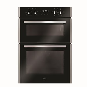 CDA DC941SS Built-in Double Electric Oven with Touch Control Timer - Stainless Steel