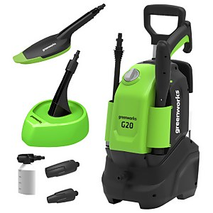 Greenworks G2 Pressure Washer (with Patio Head and Brush)