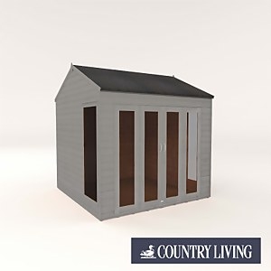 Country Living Hawksworth 8 x 8 Summerhouse Painted + Installation - Thorpe Towers