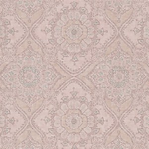 Grandeco Boutique Clarence Saran Pink Wallpaper