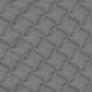 Grandeco Boutique Clarence Verdun Silver Wallpaper
