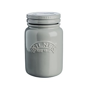 Kilner Ceramic Push Top Morn Mist Jar 0.6lt