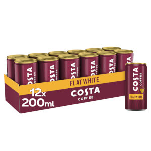 Costa Coffee Flat White 12 x 200ml