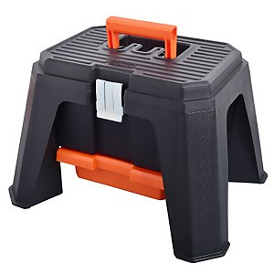 Tactix Storage Step Stool