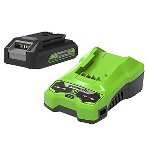 24V 2Ah Lithium-ion Battery & Charger Kit