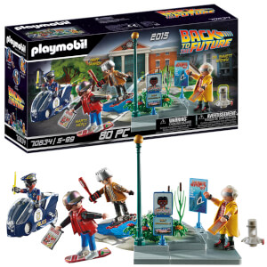 Playmobil Back to the Future Part II Hoverboard Chase (70634)