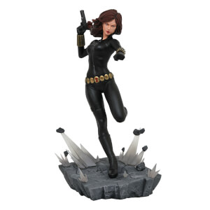 Diamond Select Marvel Premiere Collection Comic Black Widow Statue