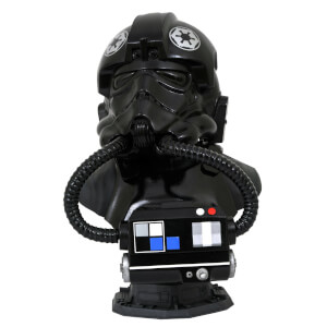 Gentle Giant Star Wars Legends In 3D TIE Fighter Pilot 1/2 Scale Bust