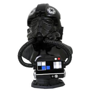 Gentle Giant Star Wars Legends In 3D TIE Fighter Pilot 1/2 Scale Bust