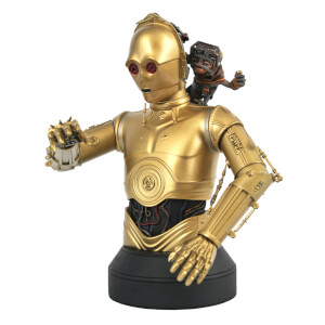 Gentle Giant Star Wars The Rise Of Skywalker C-3PO & Babu Frik 1/6 Scale Bust