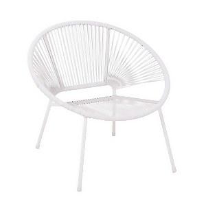 Homebase Acapulco Garden Chair - Grey