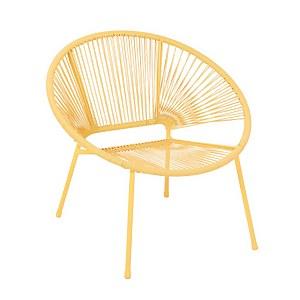 Homebase Acapulco Garden Chair - Yellow