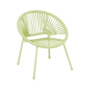 Homebase Acapulco Kids Chair - Green
