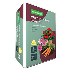 Homebase Multi Purpose Compost 100l