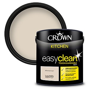 Crown Easyclean Kitchen Paint Afternoon Tea 2.5L