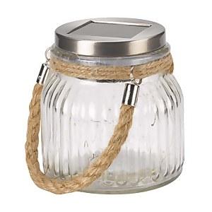 Smart Solar Firefly Glass Jar