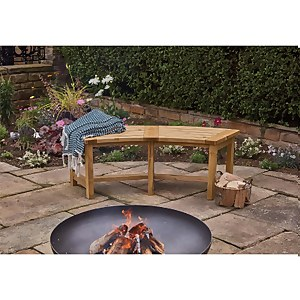 Anchor Fast Milldale Curved Bench FSC