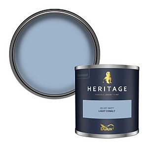 Dulux Heritage Colour Tester - Light Cobalt - 125ml