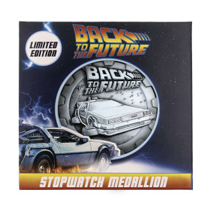 Back to the Future Stopwatch Limited Edition Medallion