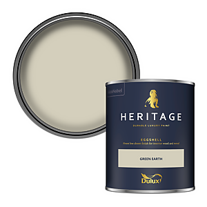 Dulux Heritage Eggshell Paint - Green Earth - 750ml