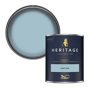 Dulux Heritage Eggshell Paint - Light Teal - 750ml