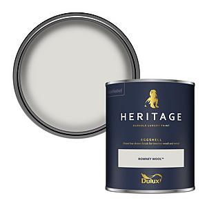 Dulux Heritage Eggshell Paint - Romney Wool - 750ml