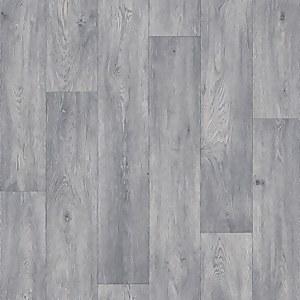 Casper Oak Effect Vinyl Flooring - Grey - 2x3m