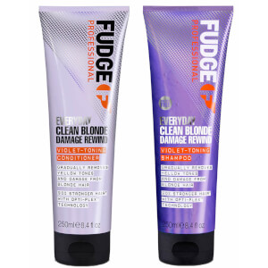Everyday Clean Blonde Damage Rewind Shampoo and Conditioner 250ml