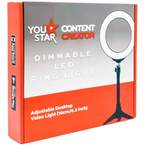 LED Ring Light 16cm with Mini Tripod from I Want One Of Those