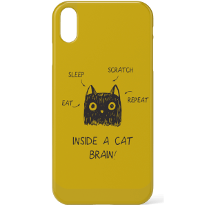 Inside A Cat Brain Phone Case for iPhone and Android