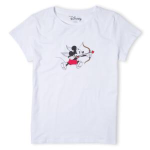 Disney Mickey Cupid Women's T-Shirt - White
