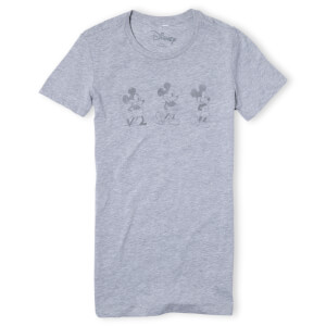Disney Evolution Three Poses Women's T-Shirt - Grey