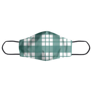 Tartan Green Face Mask